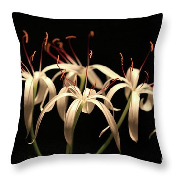 Swamp Lily Throw Pillow