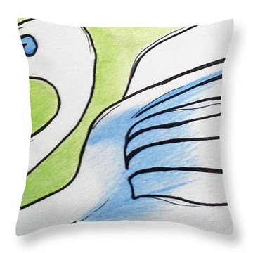 Swan 2015 Throw Pillow