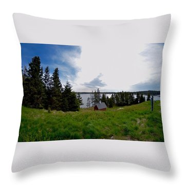 Swans Island Bay Throw Pillow