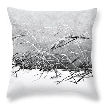 Sway Throw Pillow by Karen Stahlros