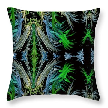 Sway Movement Art Throw Pillow