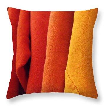 Sweatshirts Throw Pillow by Anna Villarreal Garbis