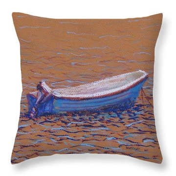 Swedish Boat Throw Pillow