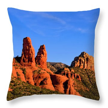 Sweeping Sedona Throw Pillow