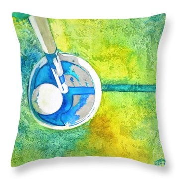 Sweet Anticipation - Golf Series Throw Pillow