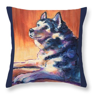Sweet Boy Throw Pillow