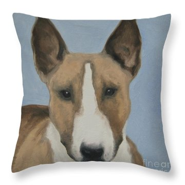Sweet Bully Face Throw Pillow