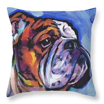Sweet Bully Throw Pillow