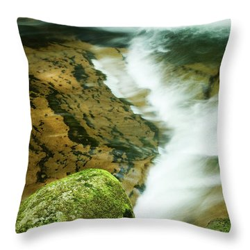 Sweet Creek Throw Pillow