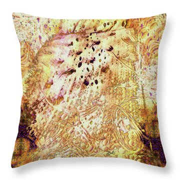Sweet Dreams Throw Pillow by Claire Bull