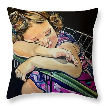 Sweet Dreams, Geo Throw Pillow