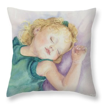 Sweet Dreams Lucy Throw Pillow