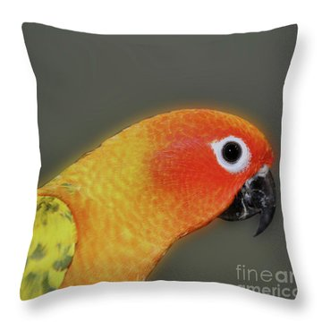 Sweet Face Throw Pillow