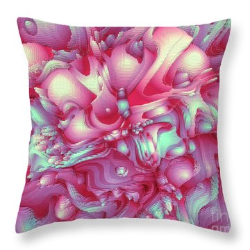 Sweet Flowers 2 Throw Pillow