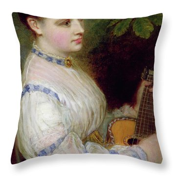 Sweet Harmony Throw Pillow