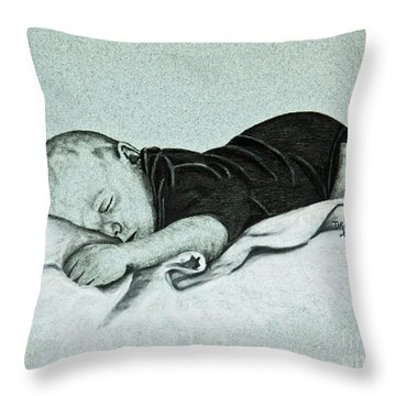 Sweet Innocence Throw Pillow