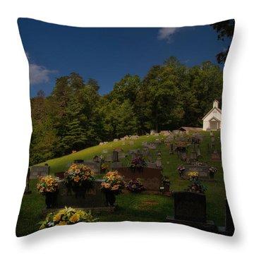 Sweet Little Church Throw Pillow