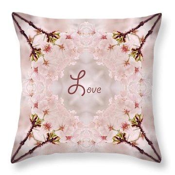 Sweet Love Throw Pillow
