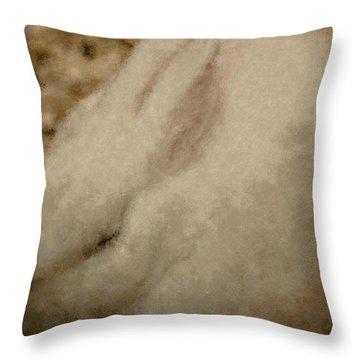 Sweet Marshmallow Throw Pillow