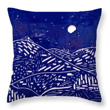 Sweet Night Throw Pillow by Jason Messinger