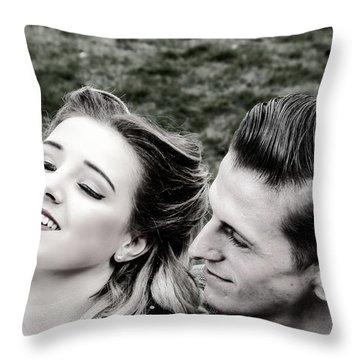 Sweet Nothings Throw Pillow