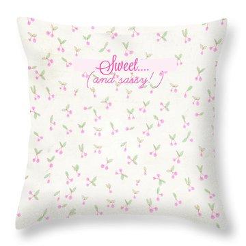 Sweet Throw Pillow