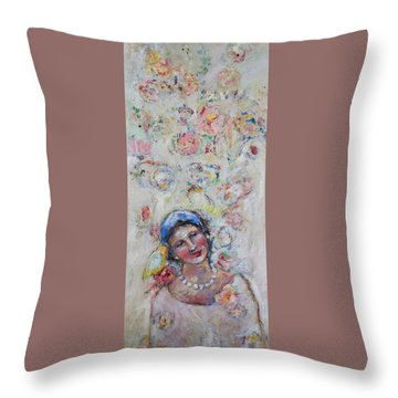 Sweet Secrets Throw Pillow