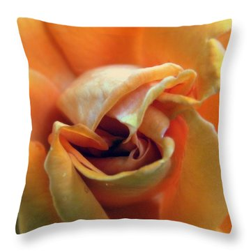 Sweet Seduction Throw Pillow by Karen Wiles