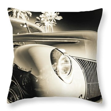 Sweet Sepia Throw Pillow