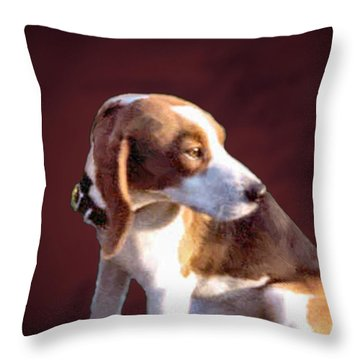 Sweet Shadow Throw Pillow