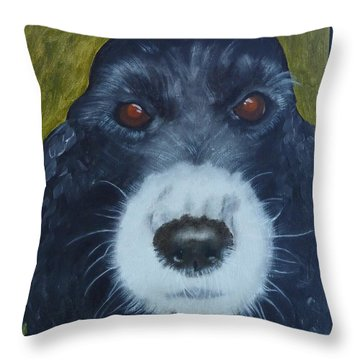 Sweet Simon Throw Pillow