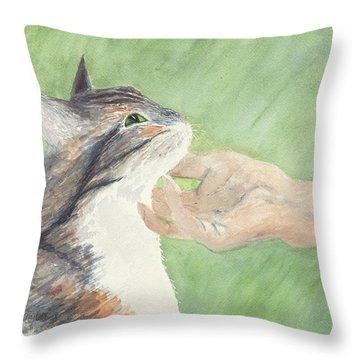 Sweet Spot Throw Pillow