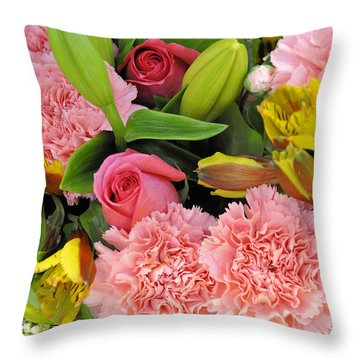 Sweet Surrender Throw Pillow