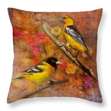 Sweet Sweet Song 2015 Throw Pillow
