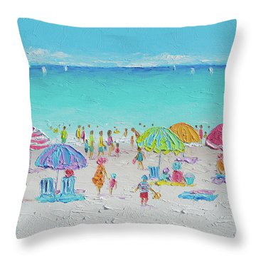 Sweet Sweet Summer Throw Pillow