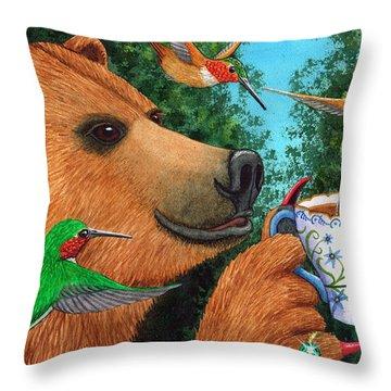 Sweet Tea Throw Pillow