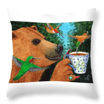 Sweet Tea Throw Pillow