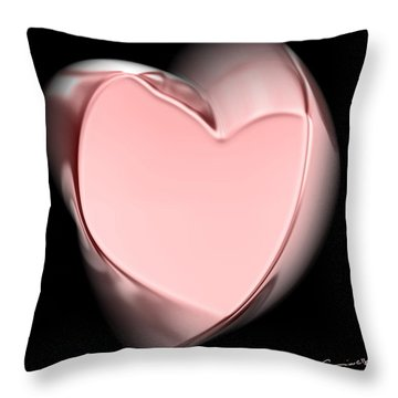 Sweet Twisted Love Throw Pillow