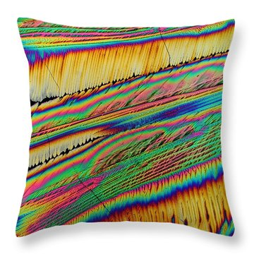 Sweet Vibrations Throw Pillow