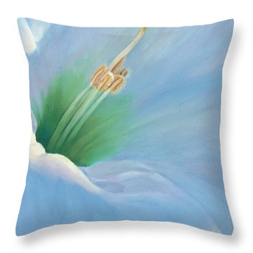 Sweet Whisper Throw Pillow