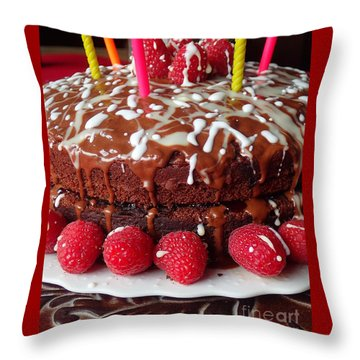 Sweet Wishes Throw Pillow
