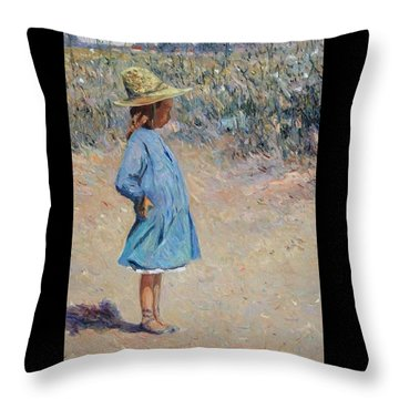 Sweetheart  Throw Pillow by Pierre Van Dijk