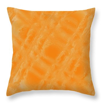 Sweetly Industrious Throw Pillow by Pharris Art