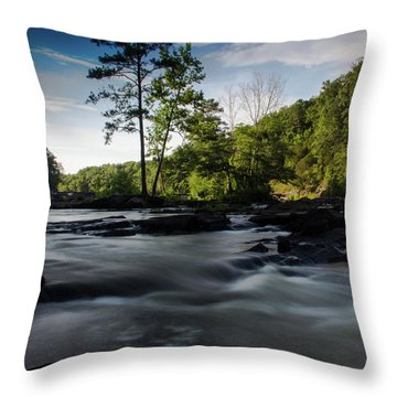 Sweetwater Creek 1 Throw Pillow