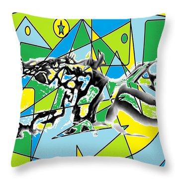 Swift Throw Pillow by AR Teeter