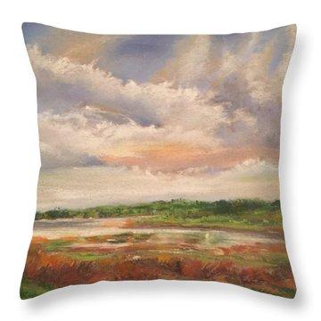 Swift Creek Va Throw Pillow
