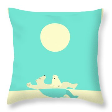 Polar Bear Throw Pillows