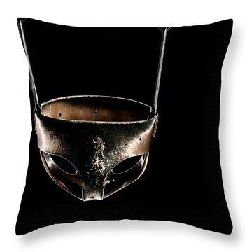 Swing In Black Throw Pillow