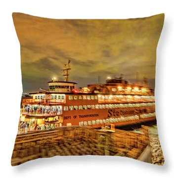 Swing The Tail Throw Pillow