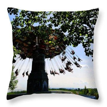 Swingin Throw Pillow by Al Bourassa